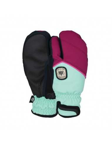 POW INDEX JUNIOR TIGGER MITT PLUM PO-GL-JITM-1718-PLUM