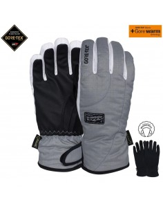 POW CRESCENT W'S GTX SHORT GLOVE ASH PO-GL-WCS-GTX-1718-AS