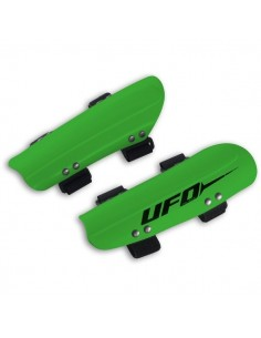 UFO PLAST SLALOM ADJUSTABLE RACING ARMGUARDS GREEN UFSK9176VE