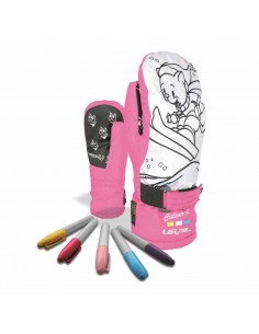 LEVEL POP ART JR MITT FUCSIA 4180JM.30
