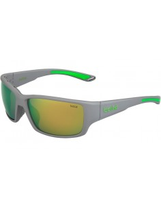 BOLLE KAYMAN MATTE GREY GREEN POLARIZED
