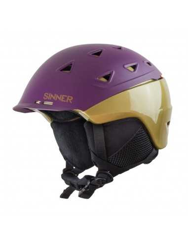 SINNER STONEHAM PURPLE GOLD SIHE-137-70