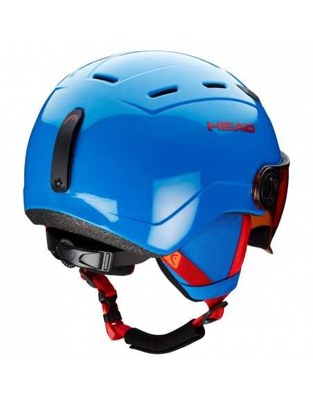 HEAD MOJO VISOR BLUE 328108