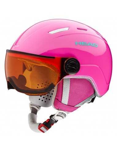 HEAD MAJA VISOR PINK 328158
