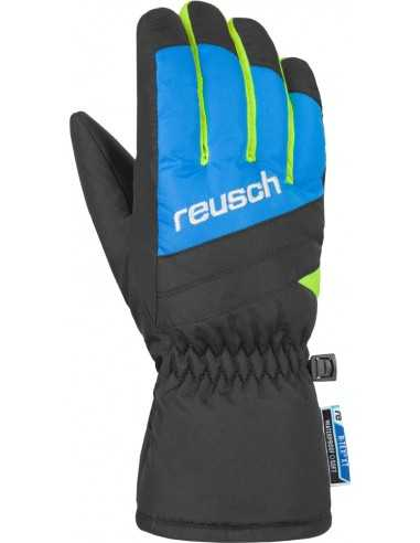 REUSCH BENNET R-TEX XT JUNIOR BLACK BRILLIANT BLUE 4861206 760