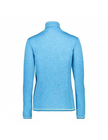 CAMPAGNOLO WOMAN SWEAT BLUE JEWEL MEL 38L1216 M714