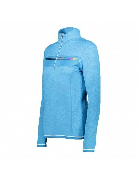 CAMPAGNOLO WOMAN SWEAT BLUE JEWEL MEL 38L1216 M714