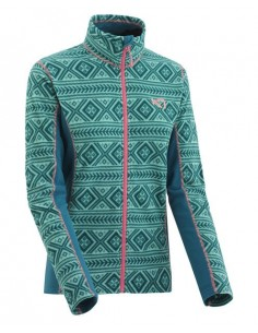 KARI TRAA FLETTE FLEECE JACKET LAKE 622061 LAKE