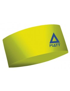 MATT THERMOCOOL HEADBAND FLUOR YELLOW 5897-881