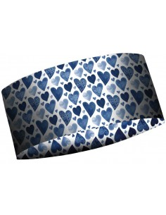 MATT THERMOCOOL HEADBAND HEARTS 5897-854
