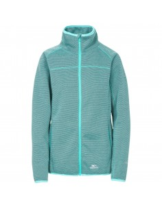 TRESPASS TENBURY FLEECE JACKET LAGOON
