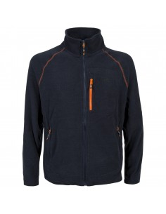 TRESPASS GREGORY FLEECE JACKET NAVY MAFLFLL10003 NAVY