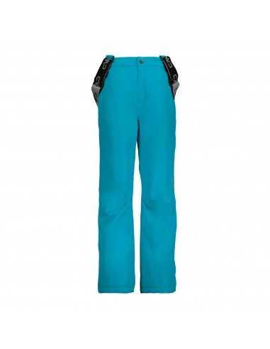 CAMPAGNOLO KID SKI PANTS BLUE JEWEL 3W15994 M713