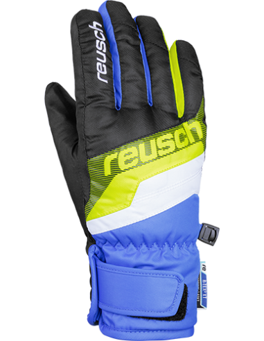 REUSCH DARIO R-TEX XT JUNIOR BLACK/BRILLIANT BLUE 4761212 760