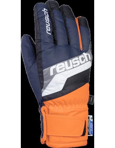 REUSCH DARIO R-TEX XT JUNIOR BLUE/ORANGE 4961212 432
