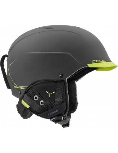 CÉBÉ CONTEST VISOR MATT BLACK LIME CBH345