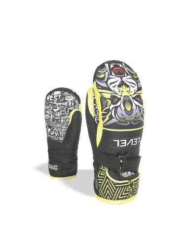 LEVEL GLOVE JUNIOR MITT YELLOW