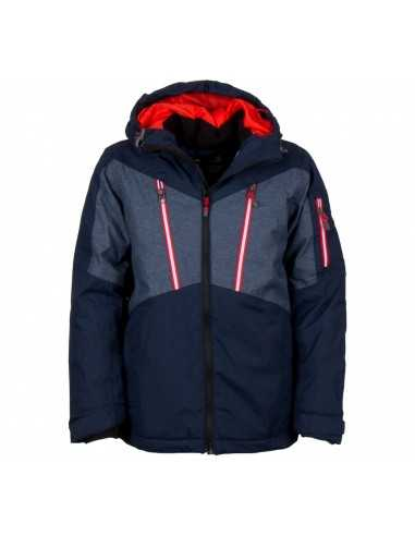 KILMANOCK JASON JUNIOR SKI JACKET MARINE