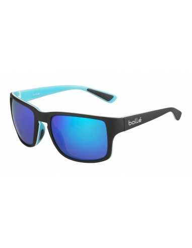 BOLLE SLATE MATT BLACK BLUE POLARIZED...