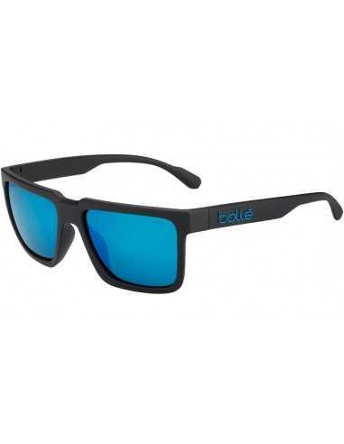 BOLLE FRANK MATTE BLACK POLARIZED OFFSHORE BLUE 12546