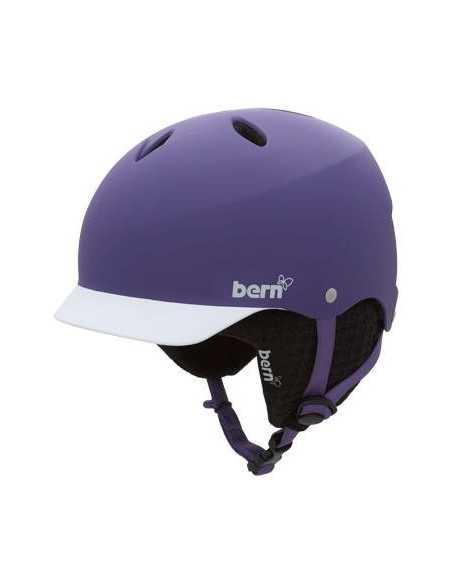 BERN LENOX MATTE PURPLE BE11W5EMPGL