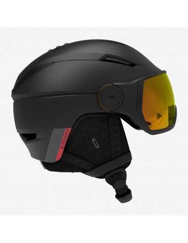 SALOMON PIONEER VISOR PHOTO BLACK