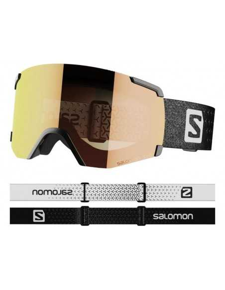 SALOMON S/VIEW PHOTO BLACK RED AW RED L41153400