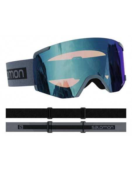 SALOMON S/VIEW PHOTO GREY AW BLUE L41153300