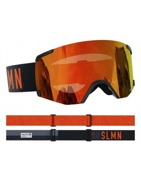 SALOMON S/VIEW BLACK UNIVERSAL MID RED L41152900