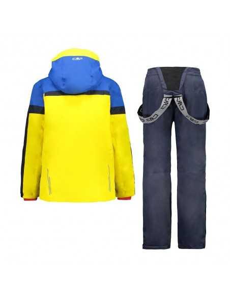 CAMPAGNOLO KID SET JACKET + PANT YELLOW 30W0084 R411