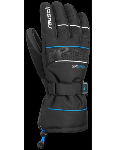 REUSCH CONNOR R-TEX XT BLACK BRILLIANT BLUE 4701235 760