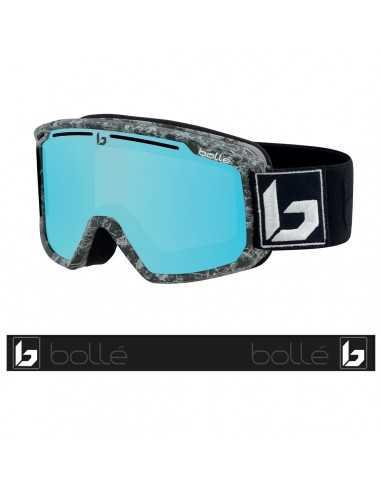 BOLLE MADDOX MATTE BLACK MARBLE PHOTOCHROMIC VERMILLON BLUE 21928