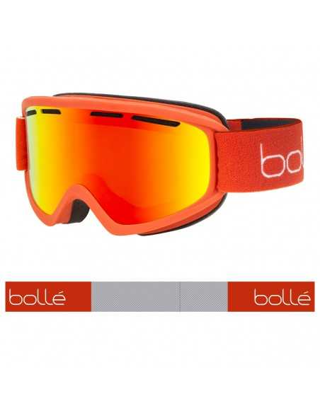 BOLLE FREEZE PLUS BRICK RED MATTE SUNRISE 22052