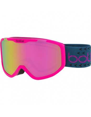 BOLLE ROCKET PLUS MATTE PINK & BLUE...