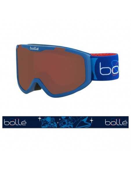 BOLLE ROCKET MATTE BLUE AEROSPACE ROSY BRONZE 21964