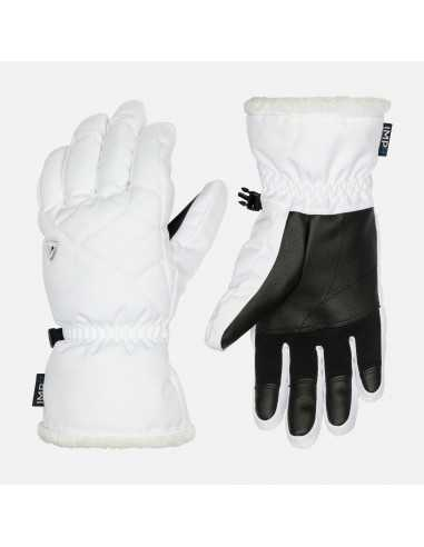 ROSSIGNOL W TEMPTATION IMPR GLOVES WHITE