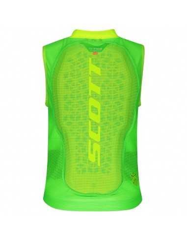 SCOTT AIRFLEX JR VEST PROTECTOR HIGH VIZ GREEN 27192066330