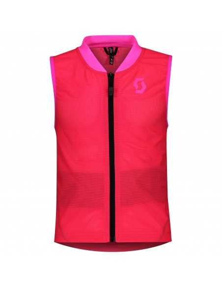 SCOTT AIRFLEX JR VEST PROTECTOR HIGH VIZ PINK 27192066340