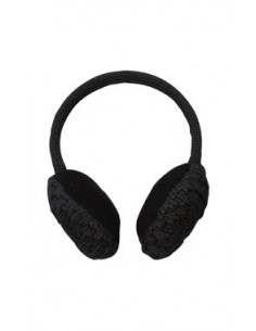 POWDER ROOM EAR MUFFS BLACK