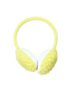 POWDER ROOM EAR MUFFS LEMON