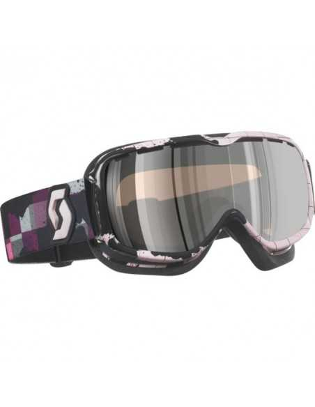 SCOTT AURA PLAID ROSE PURPLE CHROME