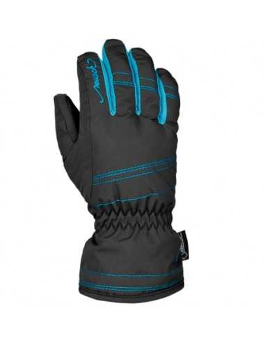 REUSCH TRINE GTX JR BLACK/BLUEBIRD 4461352 756