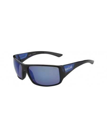 BOLLE TIGERSNAKE SHINY BLACK/MATTE BLUE POLARIZED OFFSHORE BLUE