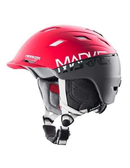 MARKER AMPIRE 2BLOCK RED/STEEL GREY