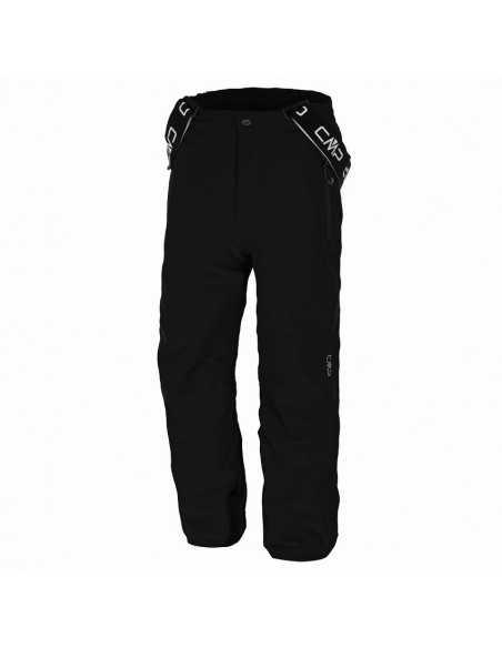 CAMPAGNOLO JUNIOR STRETCH PANTS BLACK