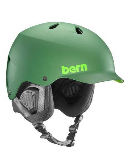 BERN WATTS EPS MATTE LEAF GREEN