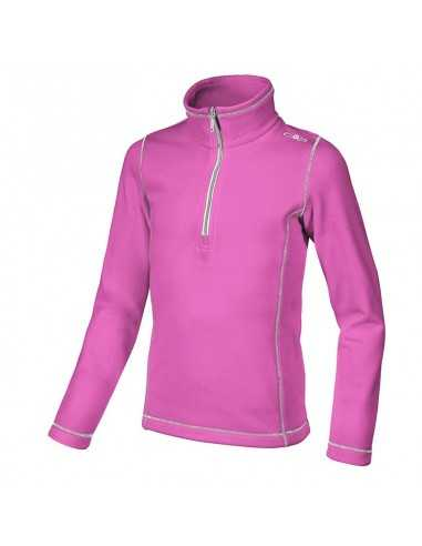 CAMPAGNOLO GIRL FLEECE SWEAT HOT PINK 3E14045 B375