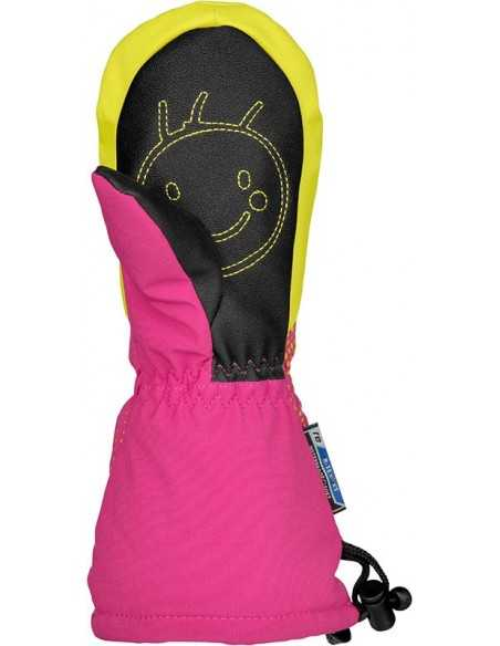 REUSCH MAXI R-TEX® XT MITTEN FUSCHIA PURPLE/LIME 4585515 328