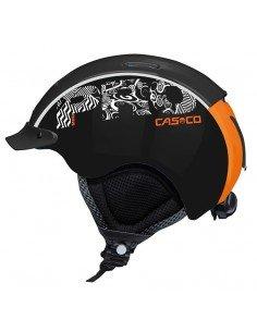 CASCO MINI PRO BLACK & ORANGE