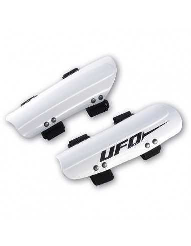 UFO PLAST SLALOM ADJUSTABLE RACING ARMGUARDS WHITE UFSK9176BL